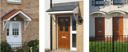Door Canopies Glasgow