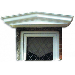 A duo-pitch canopy with or without corbels.  sc 1 st  Door Canopies Glasgow Door Canopy Scotland Glass Fibreworld GRP ... : door canopies scotland - memphite.com